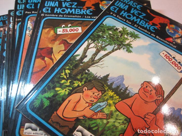 ERASE UNA VEZ EL HOMBRE-COLECCIÓN COMPLETA 13 COMICS-EDICIONES JUNIOR-VER FOTOS-(V-22.692) (Tebeos y Comics - Grijalbo - Otros)