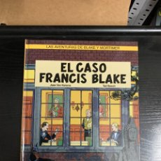 Cómics: LAS AVENTURAS DE BLAKE Y MORTIMER T13: EL CASO FRANCIS BLAKE, DE JEAN VAN HAMME Y TED BENOIT. Lote 260362595