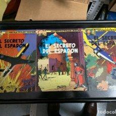 Comics : LAS AVENTURAS DE BLAKE Y MORTIMER T9,10 Y 11: EL SECRETO DEL ESPADÓN, DE EDGAR P. JACOBS. Lote 260363760