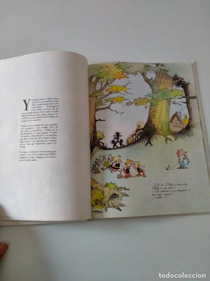 Cómics: Astérix Cómo Obélix se cayó en la marmita del druida Ediciones Junior Año 1993 - Foto 5 - 260457900