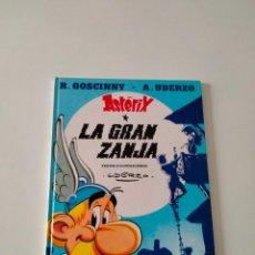 Cómics: ASTÉRIX NÚMERO 25 LA GRAN ZANJA EDICIONES JUNIOR AÑO 1993 TAPA DURA. Lote 260464935