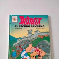 Cómics: ASTÉRIX NÚMERO 11 EL ESCUDO ARVERNO GRIJALBO-DARGAUD AÑO 1993 TAPA DURA. Lote 260494815