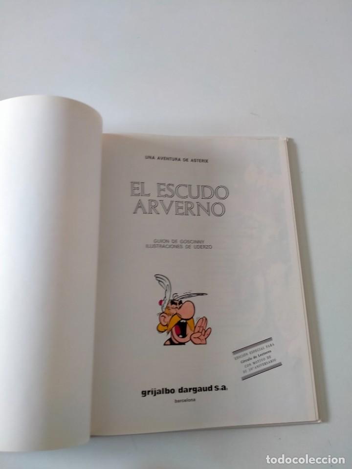 Cómics: Astérix número 11 El Escudo Arverno Grijalbo-Dargaud Año 1993 Tapa Dura - Foto 4 - 260494815
