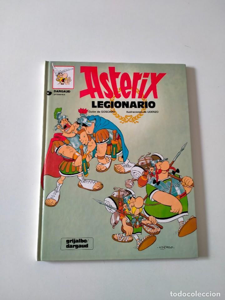 ASTÉRIX LEGIONARIO NÚMERO 9 GRIJALBO-DARGAUD AÑO 1992 TAPA DURA (Tebeos y Comics - Grijalbo - Asterix)