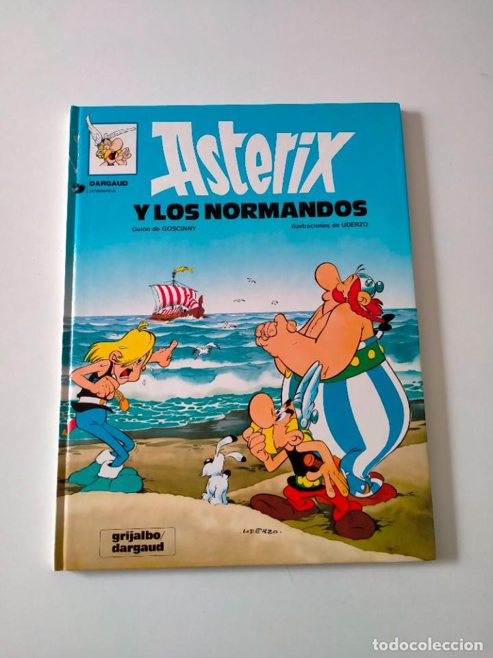 ASTÉRIX Y LOS NORMANDOS NÚMERO 8 GRIJALBO-DARGAUD AÑO 1992 TAPA DURA (Tebeos y Comics - Grijalbo - Asterix)