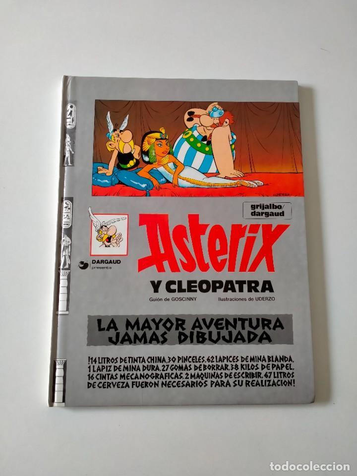 ASTÉRIX Y CLEOPATRA NÚMERO 7 GRIJALBO-DARGAUD AÑO 1992 TAPA DURA (Tebeos y Comics - Grijalbo - Asterix)