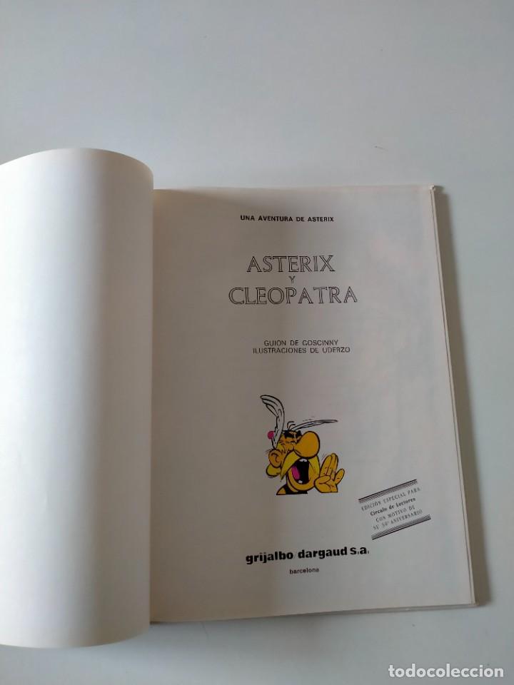 Cómics: Astérix y Cleopatra número 7 Grijalbo-Dargaud Año 1992 Tapa Dura - Foto 4 - 260502290