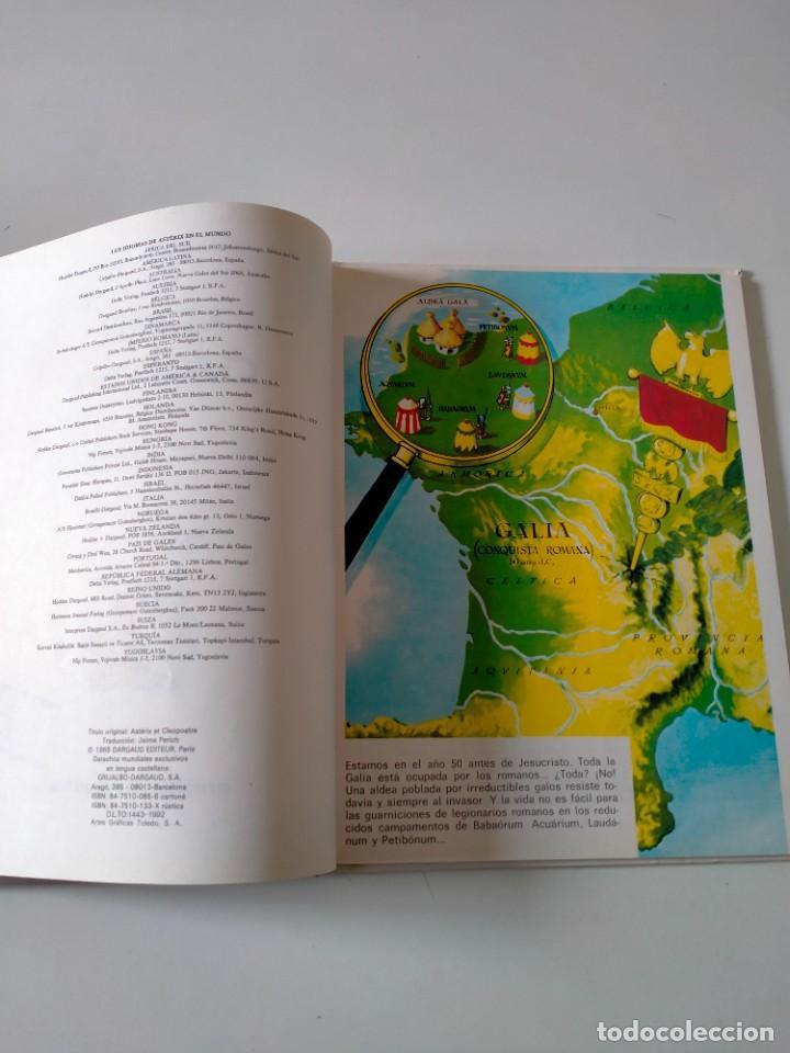 Cómics: Astérix y Cleopatra número 7 Grijalbo-Dargaud Año 1992 Tapa Dura - Foto 5 - 260502290