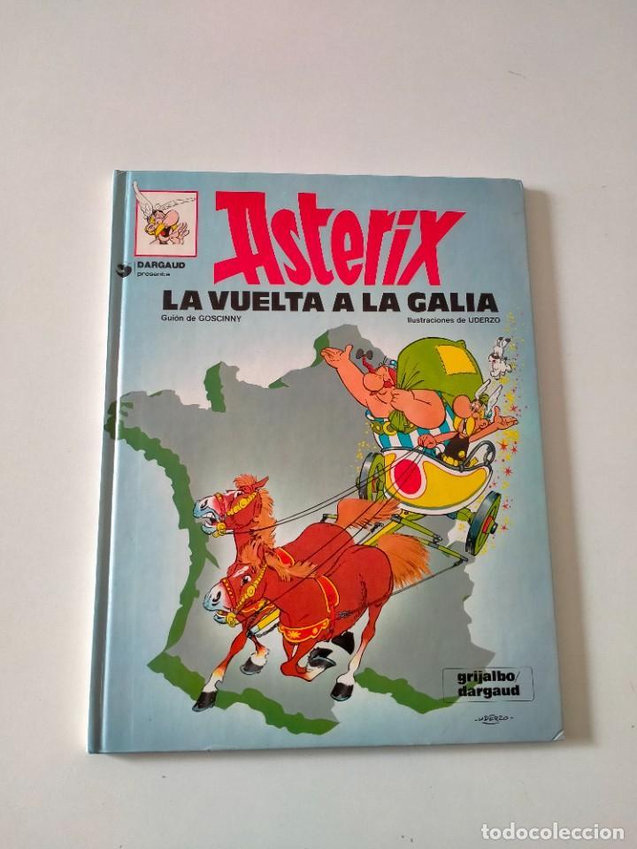 ASTÉRIX NÚMERO 6 LA VUELTA A LA GALIA GRIJALBO-DARGAUD AÑO 1992 TAPA DURA (Tebeos y Comics - Grijalbo - Asterix)