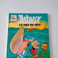 Comics: ASTÉRIX NÚMERO 3 LA HOZ DE ORO GRIJALBO-DARGAUD AÑO 1992 TAPA DURA. Lote 260506820