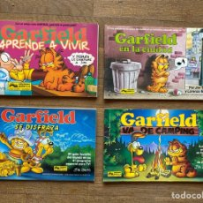 Fumetti: LOTE 4 CÓMICS GARFIELD EN COLOR - JIM DAVIS - ED. JUNIOR GRIJALBO - AÑOS 90. Lote 260546465