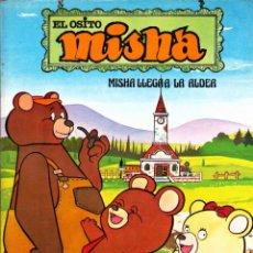 Cómics: COLECCION COMPLETA 4 EJEMPLARES EL OSITO MISHA EDICIONES JUNIOR. Lote 260696385
