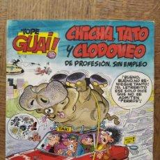 Cómics: TOPE GUAI! Nº 12 -CHICHA, TATO Y CLODOVEO, DE PROFESION SIN EMPLEO, EL ARCA NOE- TEBEOS SA GRIJALBO. Lote 260742440