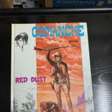 Cómics: COMANCHE T1: RED DUST, DE HERMANN Y GREG. Lote 260750335