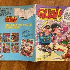 Comics : ¡¡LIQUIDACION TEBEO 1 EURO!! PEDIDO MINIMO 5 EUROS - GUAI ! - Nº 46 - JUNIOR / GRIJALBO. Lote 260807345