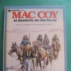 Cómics: MAC COY Nº 14 EL DESIERTO DE LOS LOCOS GRIJALBO/DARGAUD. Lote 260815410