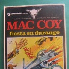 Fumetti: MAC COY Nº 10 FIESTA EN DURANGOS GRIJALBO/DARGAUD. Lote 260815590