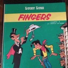"""Cómics: DESCATALOGADO-LUCKY LUCKE """"FINGERS"""" FRANCÉS AÑOS 80 DARGAUD -BUEN ESTADO. Lote 260816525"""