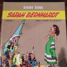 """Cómics: DESCATALOGADO-LUCKY LUCKE """"SARAH BERNHARDT"""" FRANCÉS AÑOS 80 DARGAUD -BUEN ESTADO. Lote 260816670"""