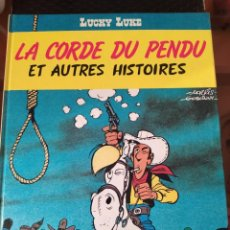 """Cómics: DESCATALOGADO-LUCKY LUCKE """"LE CORDE DU PENDU"""" FRANCÉS AÑOS 80 DARGAUD -BUEN ESTADO. Lote 260816765"""