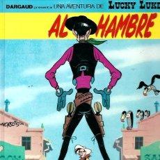 Cómics: LUCKY LUKE Nº 44, AL HAMBRE. Lote 261104675