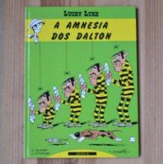 Cómics: LUCKY LUKE - A AMNESIA DOS DALTON 1ª EDICIÓN 1992 EN GALEGO GALLEGO GALICIA. Lote 261269380