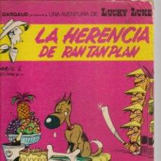 Cómics: LUCKY LUKE. LA HERENCIA DE RAN TAN PLAN. EDICIONES JUNIOR / GRIJALBO.(B/A28). Lote 261528200