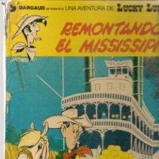 Cómics: LUCKY LUKE. REMONTANDO EL MISSISSIPI. EDICIONES JUNIOR / GRIJALBO.(B/A28). Lote 261530630