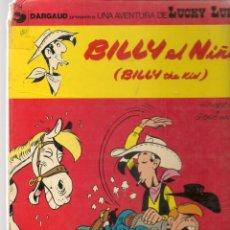 Cómics: LUCKY LUKE. BILLY EL NIÑO. EDICIONES JUNIOR / GRIJALBO.(B/A28). Lote 261530900