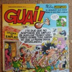 Cómics: COMIC DE GUAI! DEL AÑO 1986 Nº 1. Lote 261581700