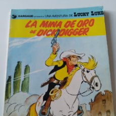 Comics: CÓMIC LUCKY LUKE LA MINA DE ORO DE DICK DIGGER.N° 49. GRIJALBO/ DARGAUD. 1993.. Lote 261586180