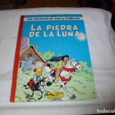 Cómics: LAS AVENTURAS DE JUAN Y GUILLERMO.LA PIEDRA DE LA LUNA.PEYO EDIC.JUNIOR.GRIJALBO 1986. Lote 261625050