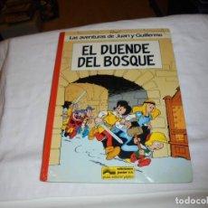 Cómics: LAS AVENTURAS DE JUAN Y GUILLERMO EL DUENDE DEL BOSQUE.PEYO EDIC.JUNIOR.GRIJALBO 1986. Lote 261625320