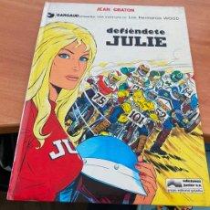 Cómics: DEFIENDETE JULIE Nº 2 AVENTURA HERMANOS WOOD (GRIJALBO - JUNIOR) (COIB119). Lote 261793580
