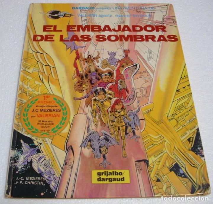 VALERIAN AGENTE ESPACIO TEMPORAL Nº5 GRIJALBO 1980 TAPA DURA-IMPORTANTE LEER DESCRIPCIÓN (Tebeos y Comics - Grijalbo - Valerian)