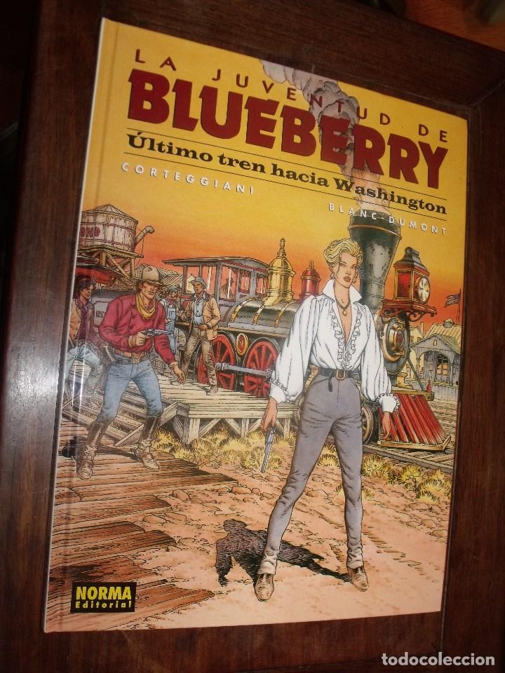 BLUEBERRY Nº 41 ULTIMO TREN HACIA WASHINGTON ( NORMA EDITORIAL ) (Tebeos y Comics - Grijalbo - Blueberry)