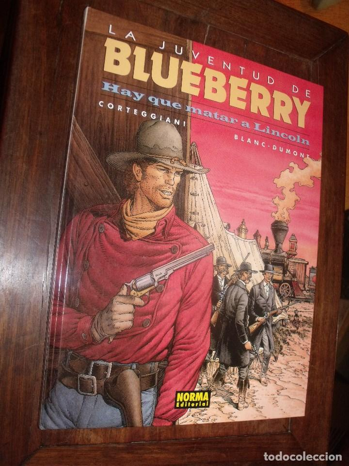 BLUEBERRY Nº 44 HAY QUE MATAR A LINCOLN ( NORMA EDITORIAL ) (Tebeos y Comics - Grijalbo - Blueberry)