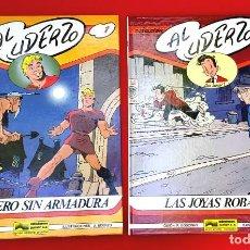 Cómics: AL UDERZO. Nº 1 Y Nº 2 - CABALLERO SIN ARMADURA - LAS JOYAS ROBADAS. Lote 262089595