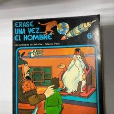 Cómics: ERASE UNA VEZ... EL HOMBRE. ALBERT BARILLÉ. Nº 6.- LAS GRANDES CATEDRALES/MARCO POLO. GRIJALBO. Lote 262188470