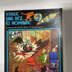 Cómics: ERASE UNA VEZ... EL HOMBRE. ALBERT BARILLÉ. Nº 7.- LA GUERRA DE LOS CIEN AÑOS / EL QUATTROCENTO.. Lote 262188550