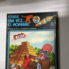 Cómics: ERASE UNA VEZ... EL HOMBRE. ALBERT BARILLÉ. Nº 8.- EL SIGLO DE ORO / LA INGLATERRA ISABELINA. Lote 262188670