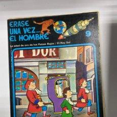 Cómics: ERASE UNA VEZ... EL HOMBRE. ALBERT BARILLÉ. Nº 9.- LA EDAD DE ORO DE LOS PAISES BAJOS/EL REY SOL. Lote 262188830