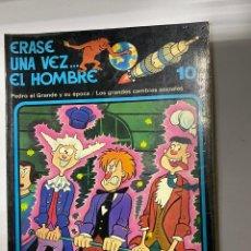 Cómics: ERASE UNA VEZ EL HOMBRE.ALBERT BARILLÉ.Nº 10.PEDRO EL GRANDE Y SU ÉPOCA/LOS GRANDES CAMBIOS SOCIALES. Lote 262189095
