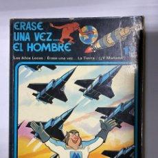 Cómics: ERASE UNA VEZ EL HOMBRE.ALBERT BARILLÉ. Nº 13. LOS AÑOS LOCOS/ERASE UNA VEZ LA TIERRA/¿Y MAÑANA?. Lote 262189540
