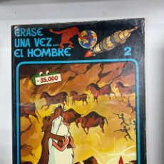 Cómics: ERASE UNA VEZ EL HOMBRE. EL HOMBRE DE CROMAÑON. LOS VALLES FERTILES. Nº 2. ALBERT BARILLÉ.. Lote 262189845