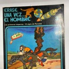 Cómics: ERASE UNA VEZ EL HOMBRE. ALBERT BARILLÉ. Nº 3.- LOS PRIMEROS IMPERIOS/ EL SIGLO DE PERICLES.. Lote 262190065