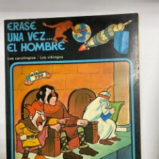 Cómics: ERASE UNA VEZ EL HOMBRE. ALBERT BARILLÉ. Nº 5.- LOS CAROLINGIOS / LOS VIKINGOS.. Lote 262190790