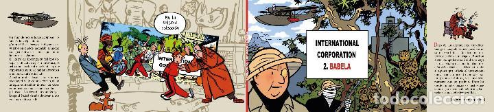 CHALAND - INTERNATIONAL CORPORATION 2. BABELA - RUSTICA CON SOLAPAS - EDICIÓN NUMERADA (Tebeos y Comics - Grijalbo - Spirou)