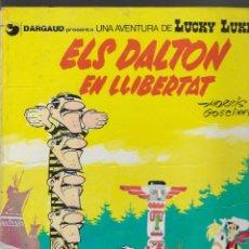 Cómics: ED. GRIJALBO -- LUCKY LUKE -- Nº 2 ELS DALTON EN LLIBERTAT -- EN CATALÀ -- 1ª EDICIÓ 1983. Lote 262414755
