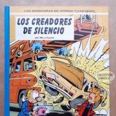 Cómics: SPIROU Y FANTASIO Nº 45 - LOS CREADORES DE SILENCIO - NIC Y CAUVIN - JUNIOR 1996. Lote 262435600